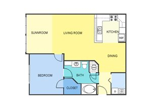 One Bedroom Apartment Homes