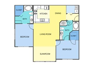 Two Bedroom Apartment Homes