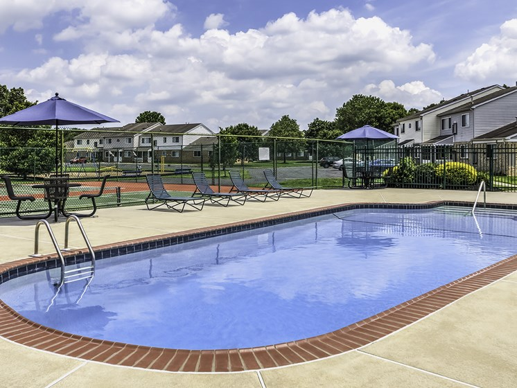 Pool at Millville Apartment