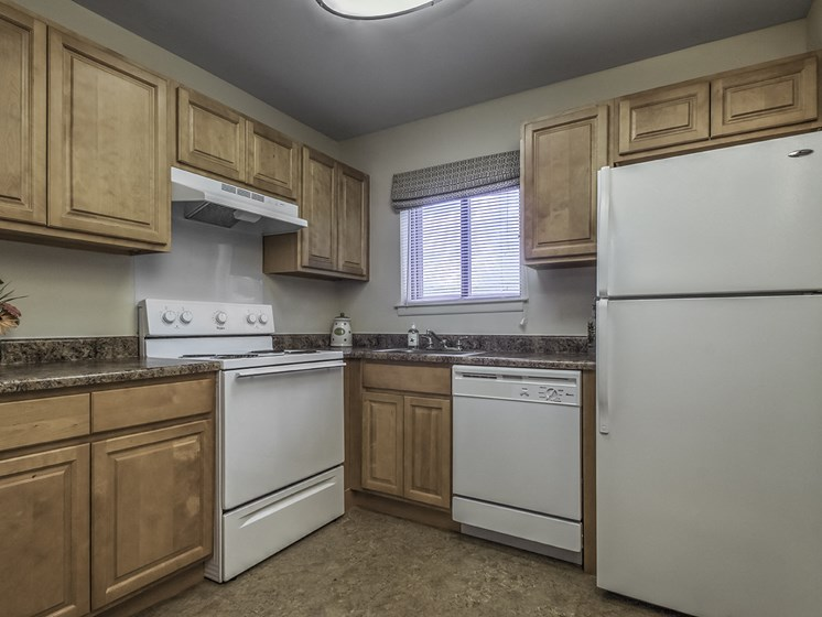 Carneys Point Apartment Kitchen