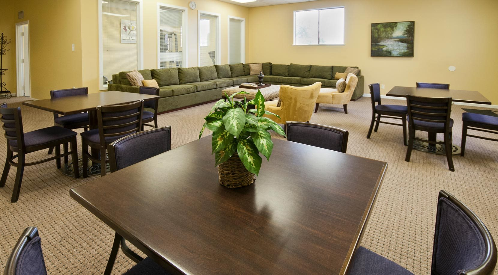 Common Area at Apartment Community in NJ