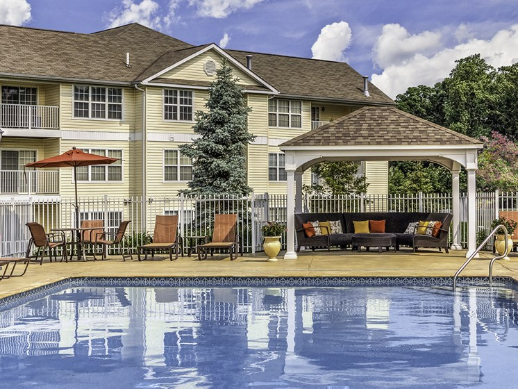 Delaware Apartment Pool & Cabana