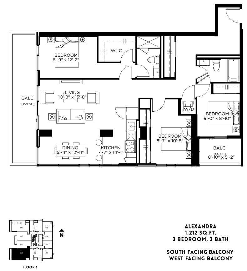 Alexandra Floor Plan 34