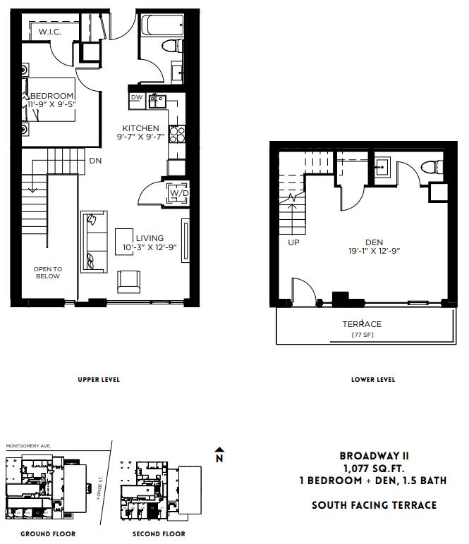 Broadway II - TH Floor Plan 18