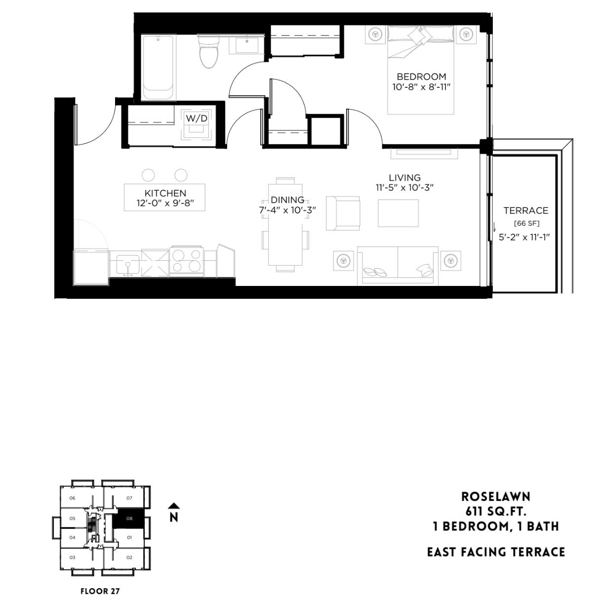Roselawn - PH Floor Plan 15