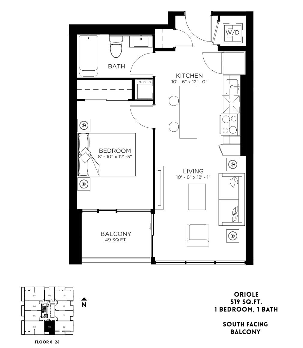 Oriole Floor Plan 2