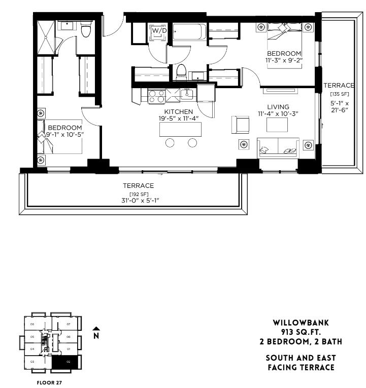 Willowbank - PH Floor Plan 31