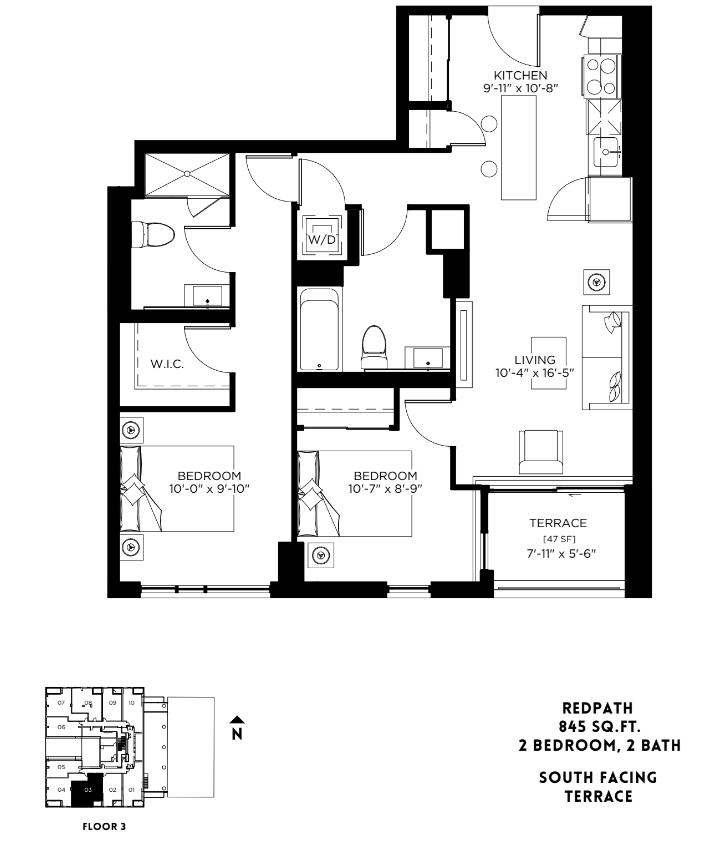 Redpath Floor Plan 23