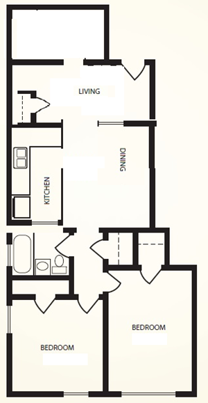 Mercier-1 Bedroom