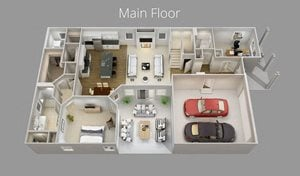 Bungalows at Mayfair Luxury Home Layout