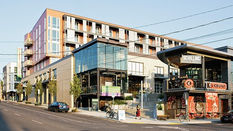 Bike to Grocers | Modera Belmont Apartment Homes | Portland, Oregon | Central Eastside