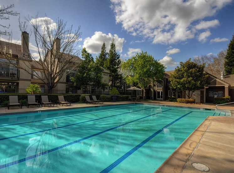 Seasonal Beautiful Outdoor Swimming Pool at Larkspur Woods Apartment Homes, 2900 Weald Way