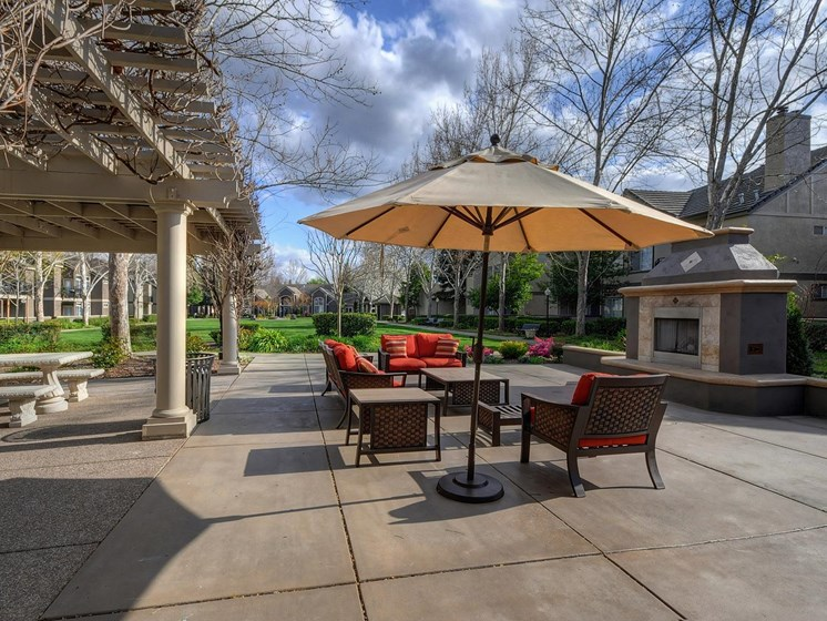 Poolside Cabanas at Larkspur Woods Apartment Homes, Sacramento, California