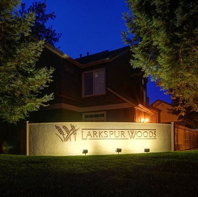 Gated Entrance at Larkspur Woods Apartment Homes, California, 95833