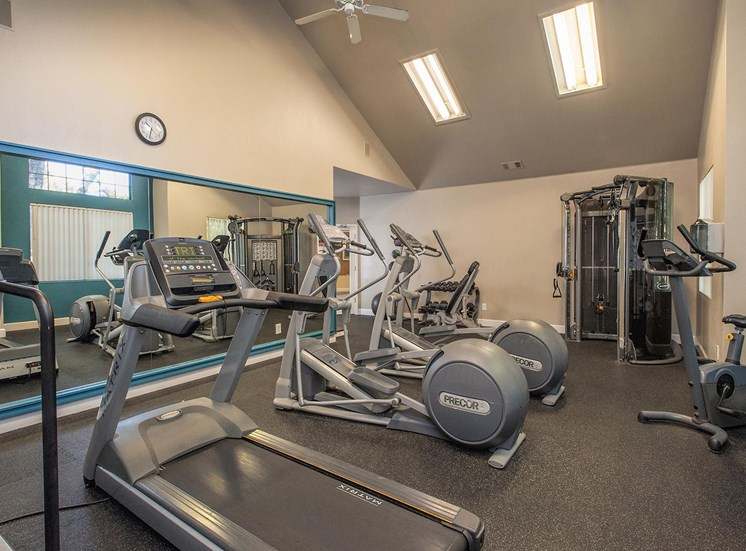 Cardio Equipment at Larkspur Woods Apartment Homes, 2900 Weald Way
