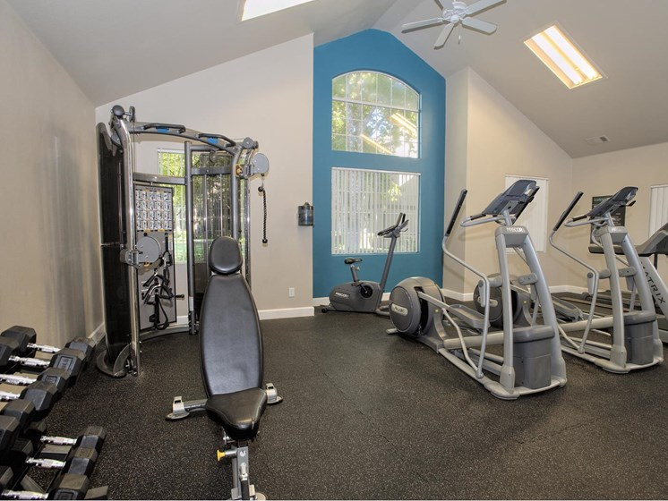Health and Fitness Center at Larkspur Woods Apartment Homes, Sacramento, 95833
