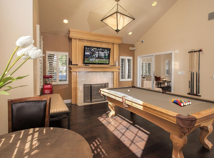 Newly Renovated Clubhouse at Larkspur Woods Apartment Homes, CA, 95833