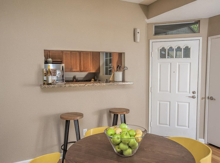 Separate Dining Area at Larkspur Woods Apartment Homes, Sacramento, California