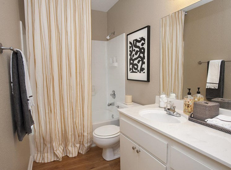 Spacious Bathrooms at Larkspur Woods Apartment Homes, California, 95833