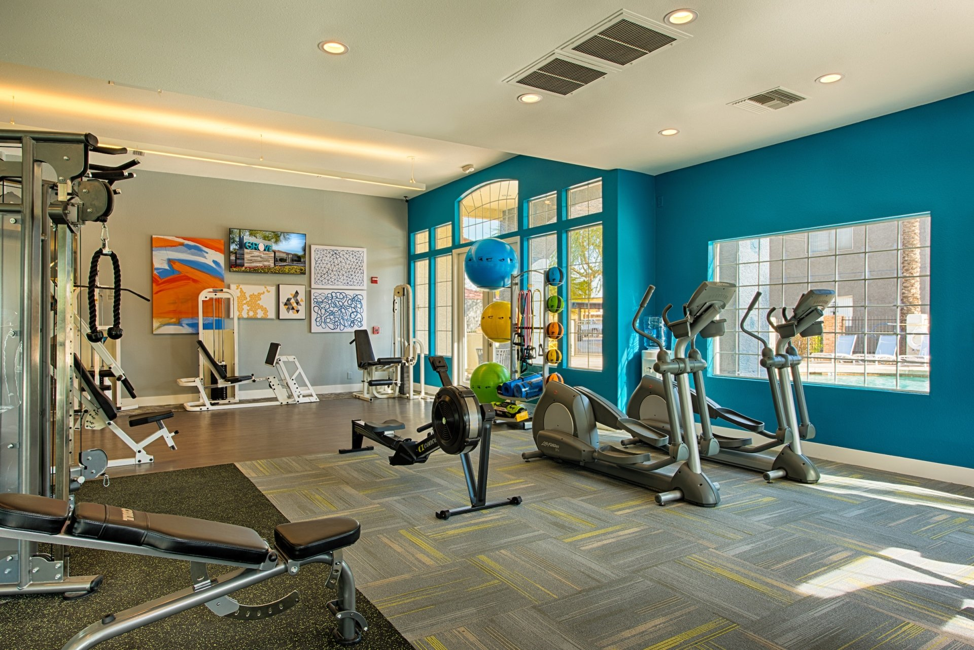 Health and Fitness Center at The Grove Deer Valley Apartments, 15645 N 35th Ave