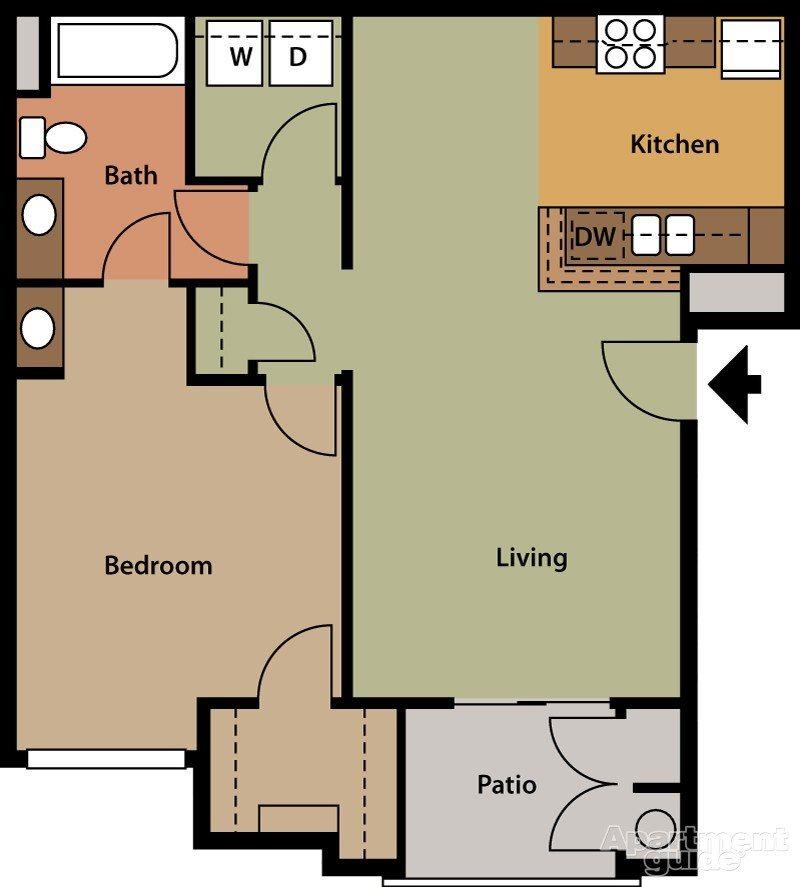 Cattail Floor Plan 2