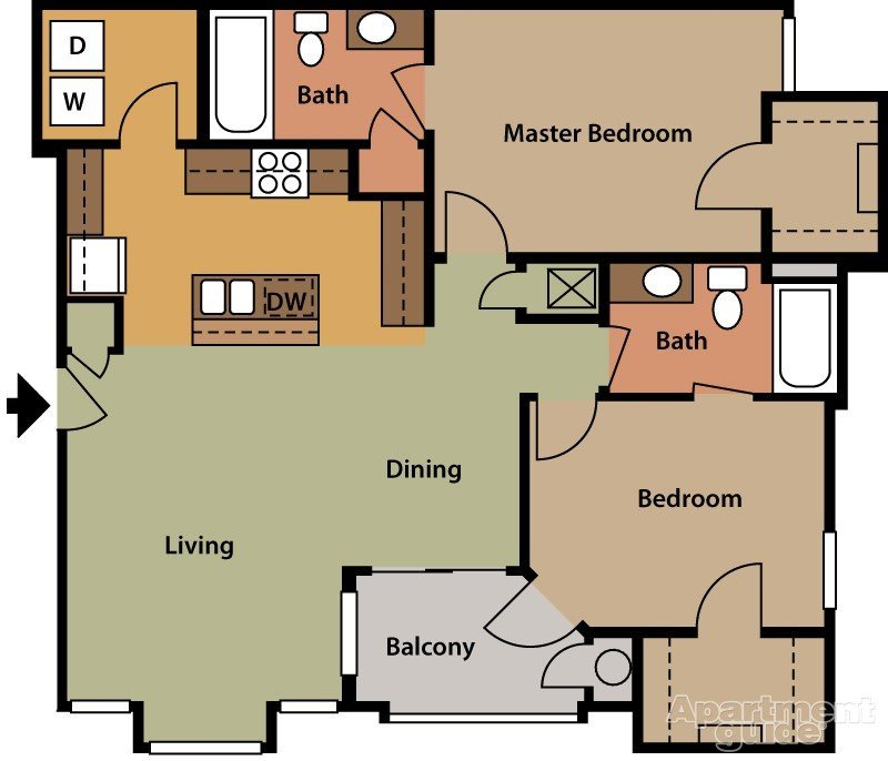 Cypress Floor Plan 5