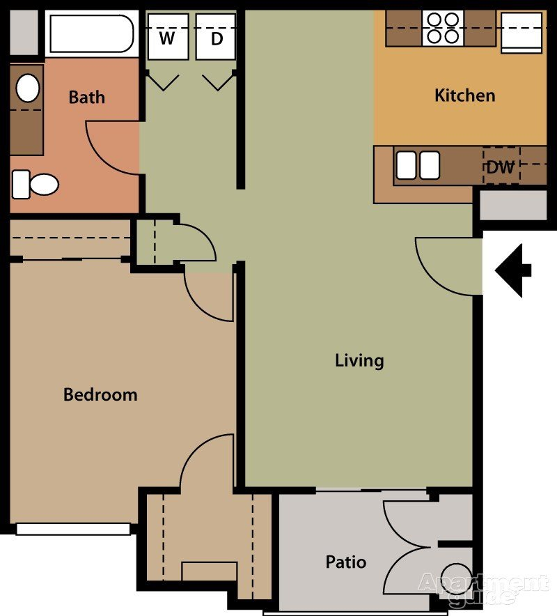 Fern Floor Plan 1