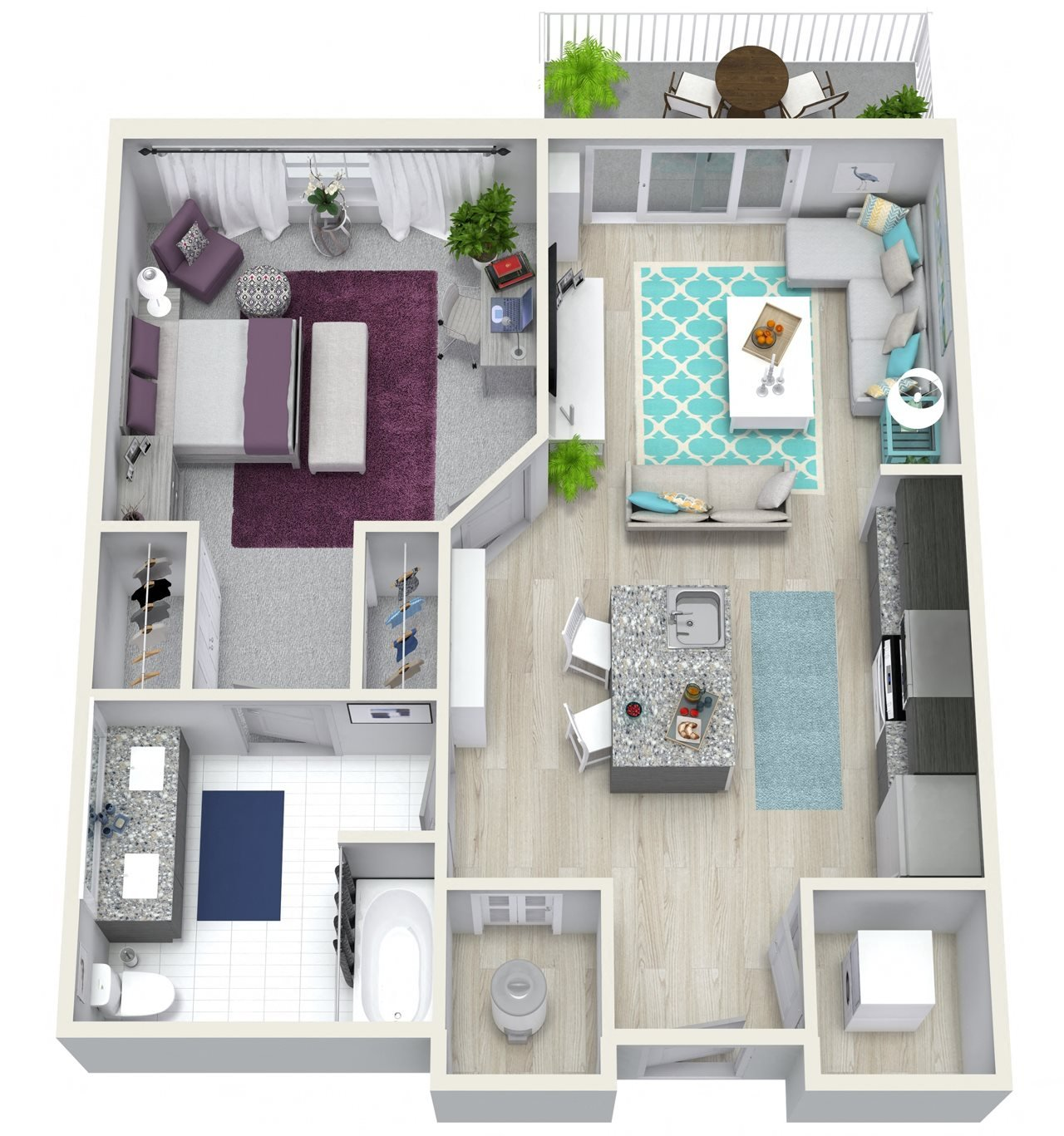 Ivy Club Apartments: Floor Plans Of Channel Club Apartments In Tampa, FL