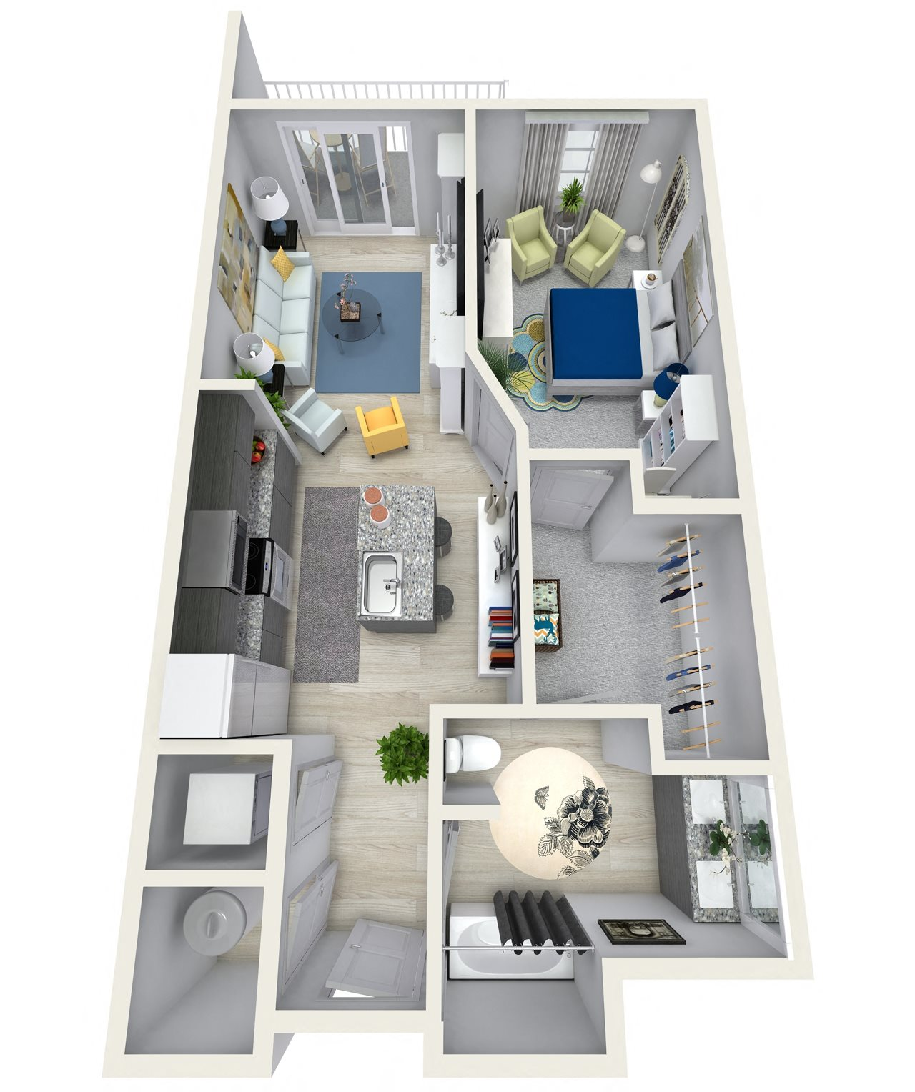 Neo Vertika: Floor Plans Of Channel Club Apartments In Tampa, FL