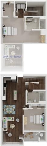 B3 TOWNHOME Floor Plan 4