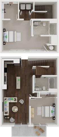 B4 TOWNHOME Floor Plan 5
