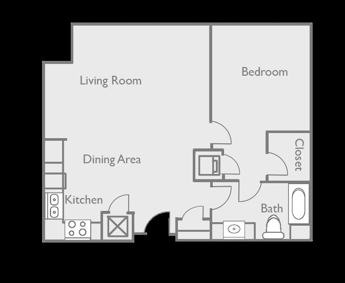 A11-D2 Floor Plan 9