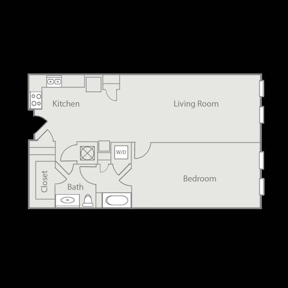 A1E & A1BE Floor Plan 30