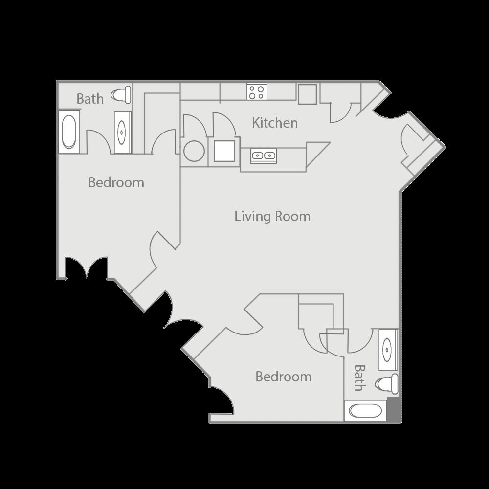 B1E Floor Plan 38