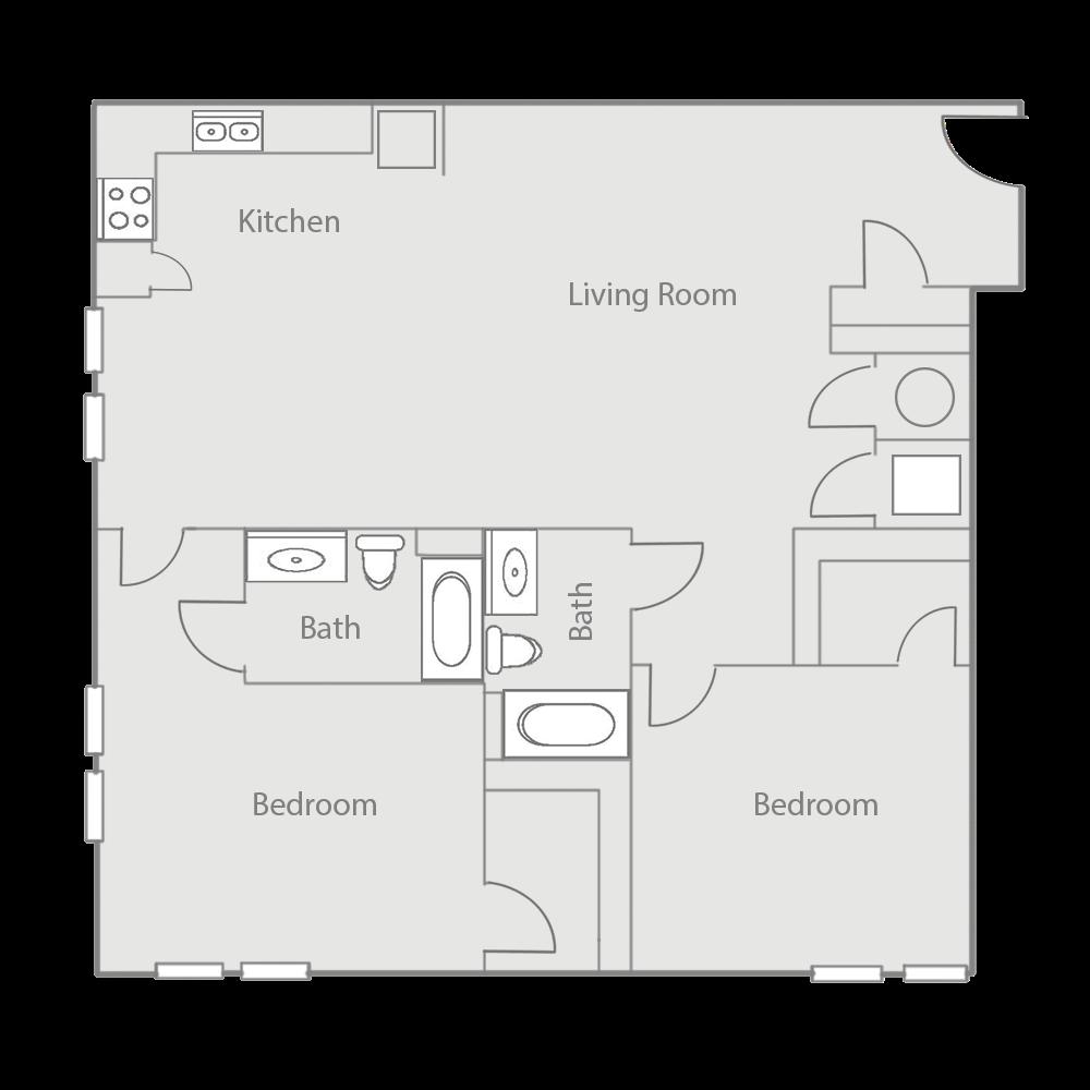 B3AE Floor Plan 41