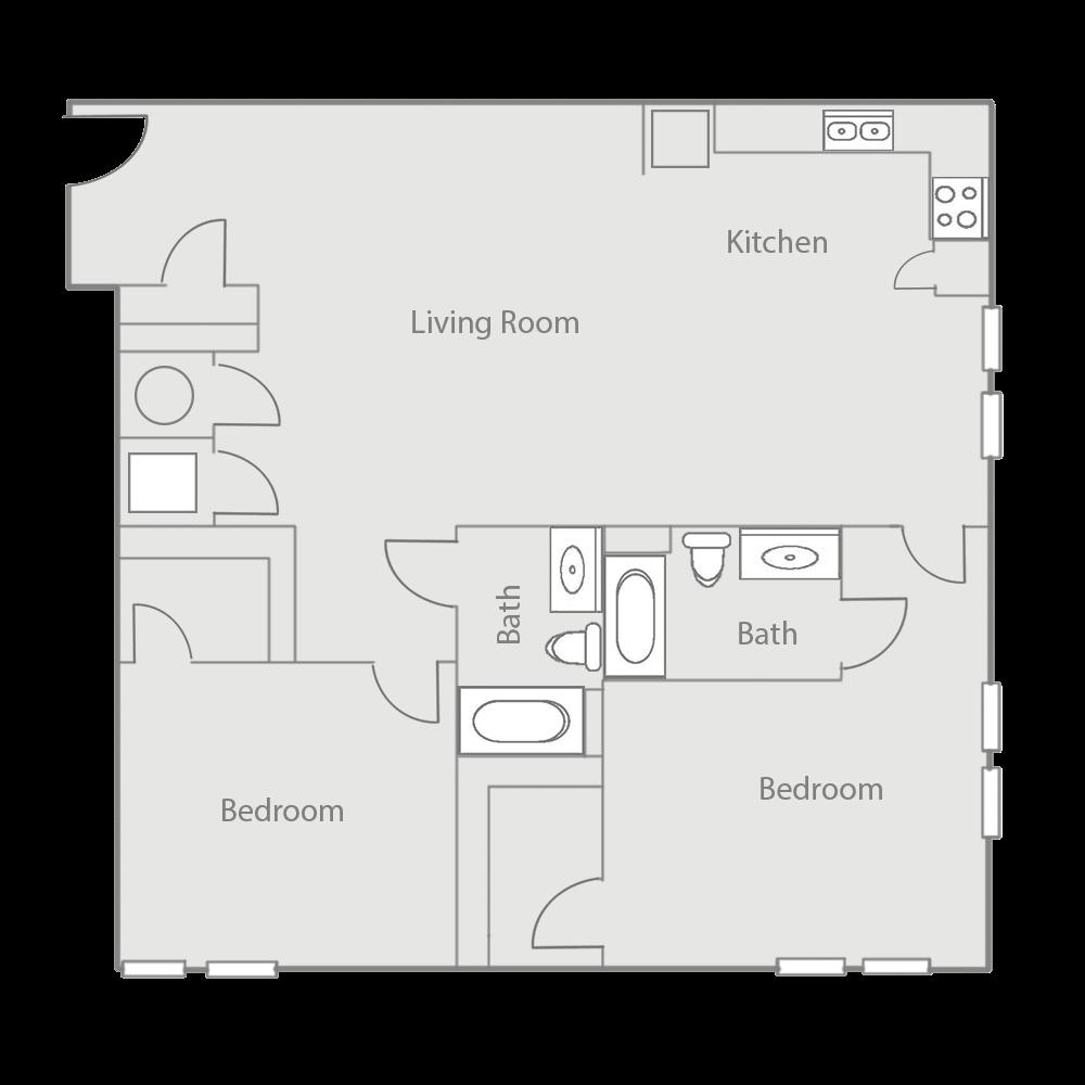 B3E Floor Plan 42