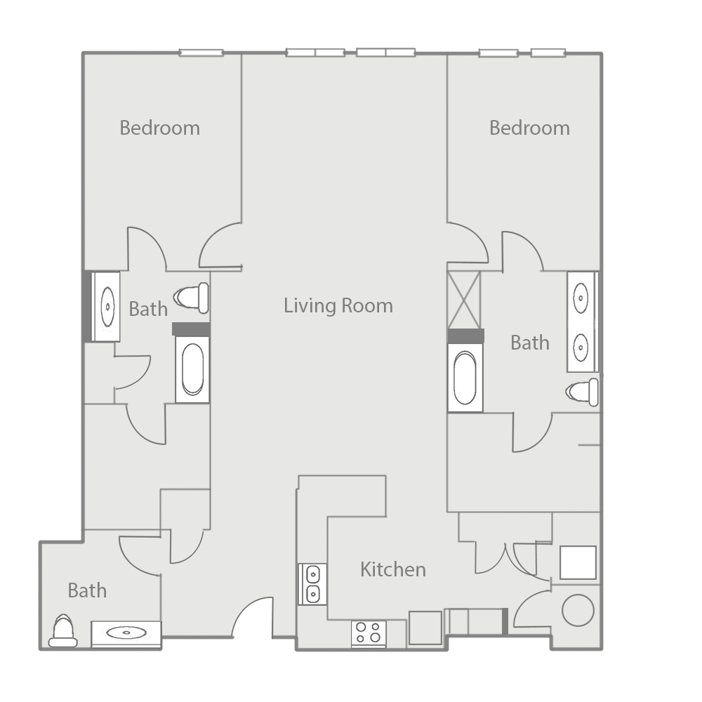 B7BE Floor Plan 48