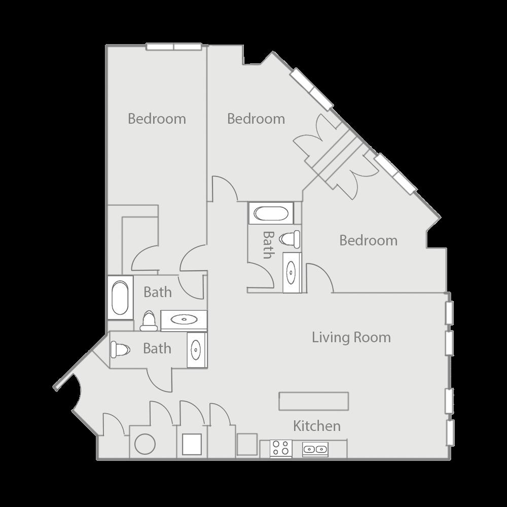 C1E Floor Plan 54