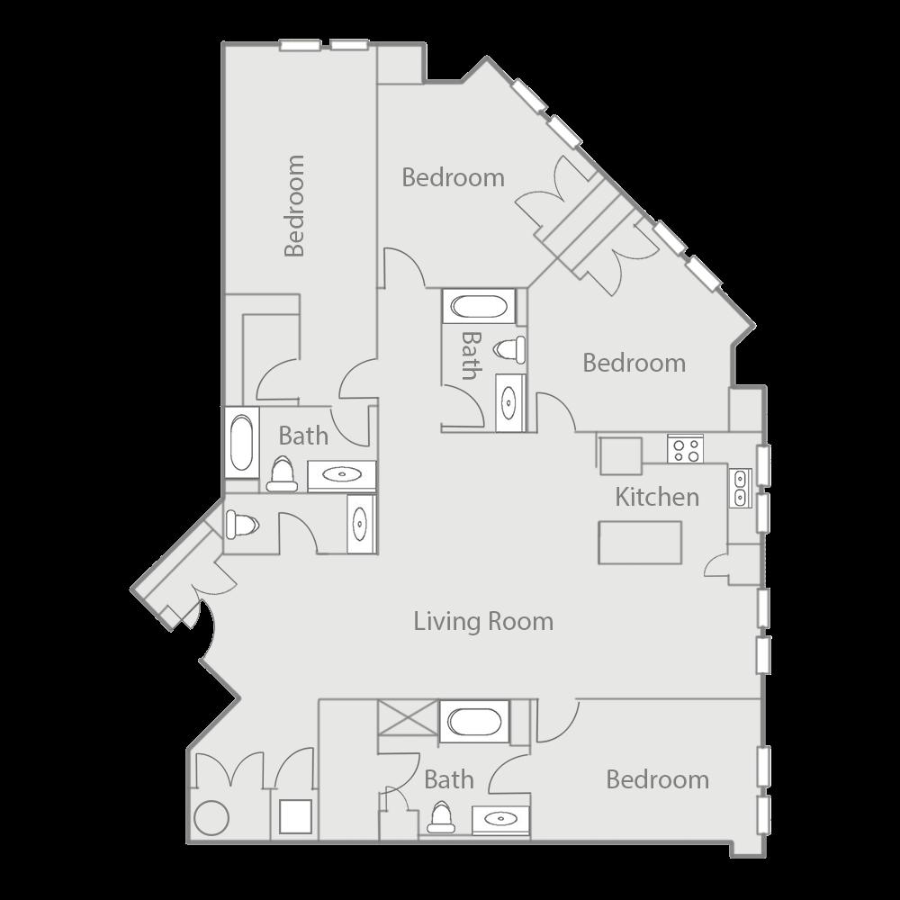 D1E Floor Plan 56