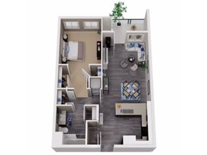 One Bedroom Martinez Apartments | Cascara Canyon Apartments