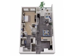 One Bedroom Apartments for rent in Martinez Apartments   Cascara Canyon Apartments