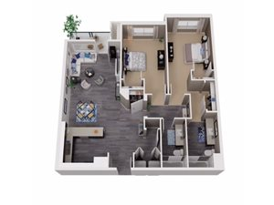 Two Bedroom Apartments for rent in Martinez Apartments | Cascara Canyon Apartments