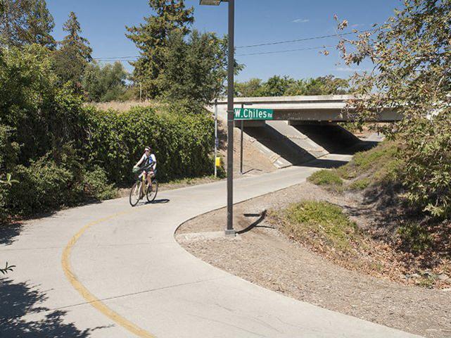 bike trail  l Davinci Apartments