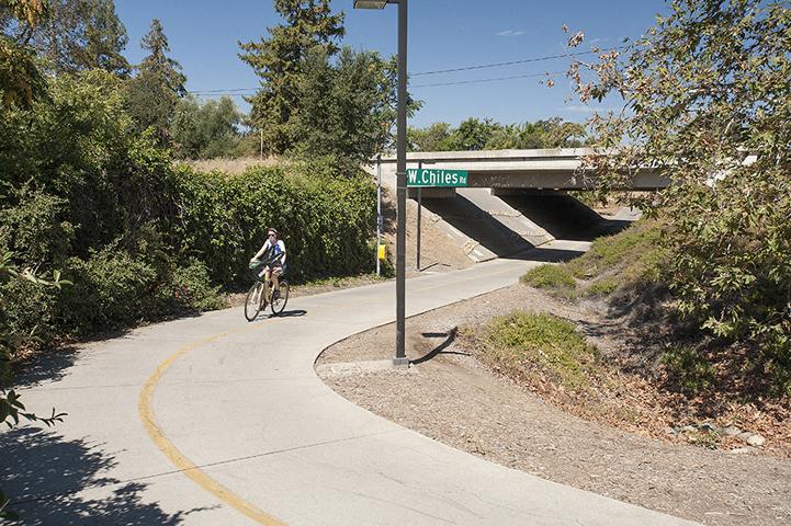 Bike Riding on Trail l Davinci Apartments