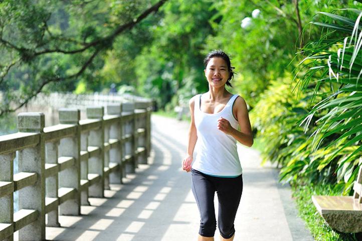 Running on Trail  l Davinci Apartments