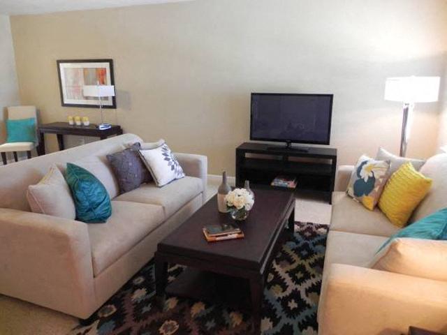 living room  l Davinci Apartments
