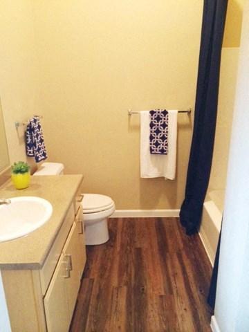 Bathroom  l Davinci Apartments