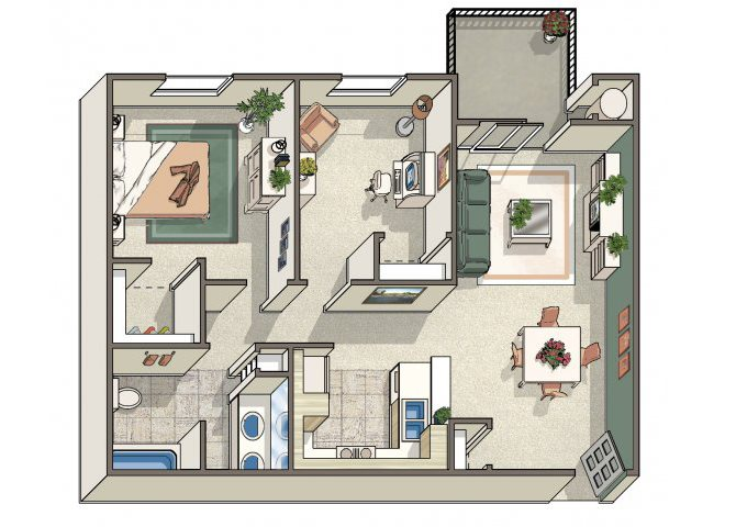 The groves at dublin ranch apartment homes apartments in - 3 bedroom apartments in dublin ohio ...