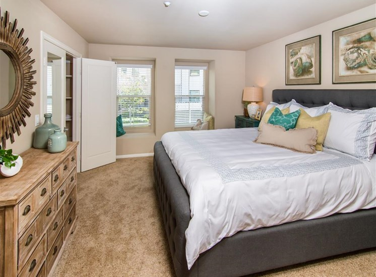 Oceanside, CA Pet-Friendly Apartments for Rent -Piazza D Oro Bedroom