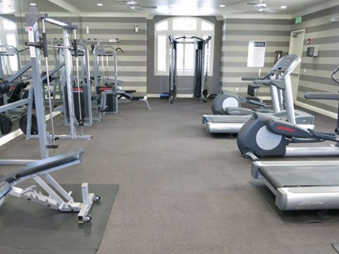 Roseville, CA Apartments for Rent - Pinnacle at Galleria Fitness Center